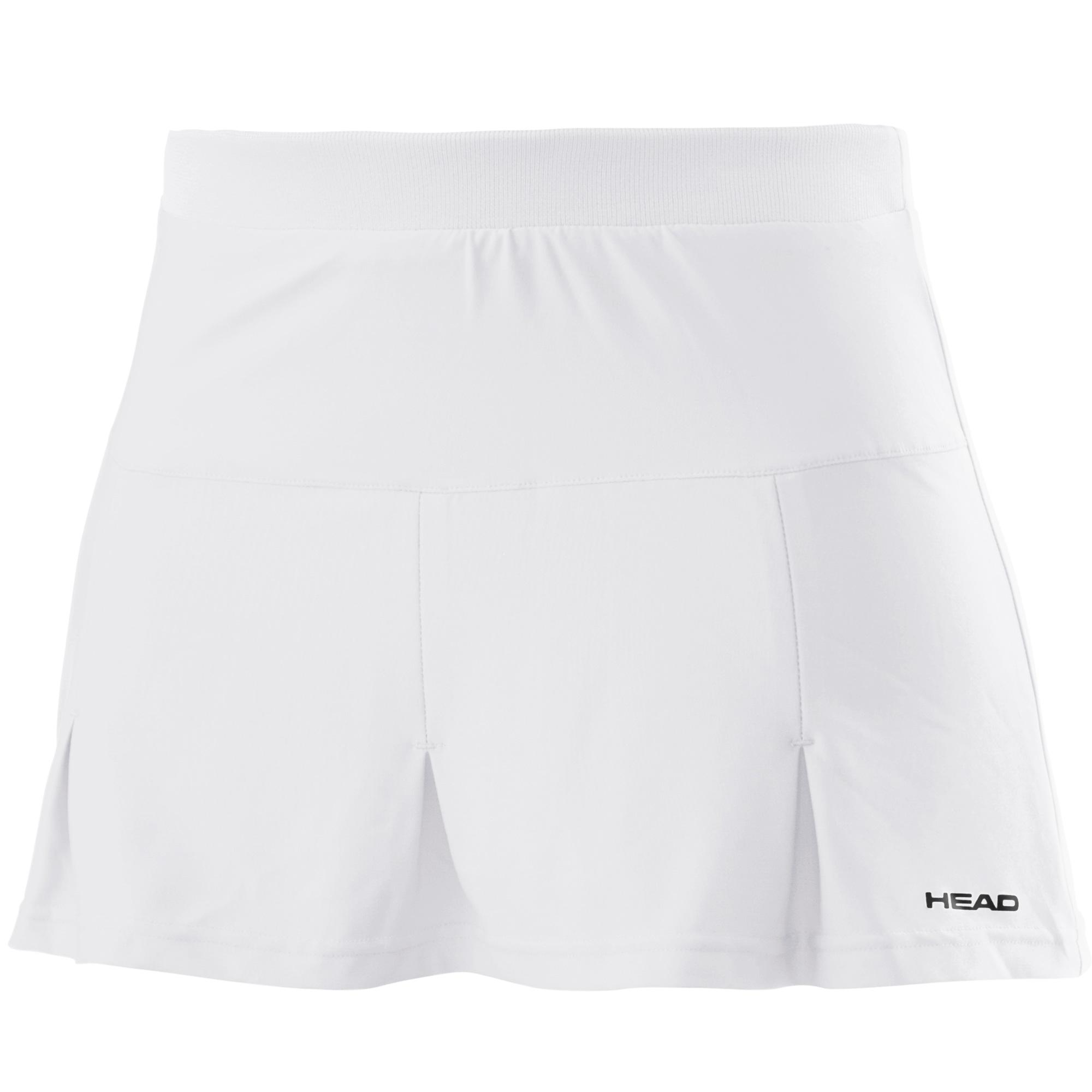 Head Club Basic Girls Skort - White, L