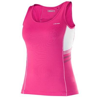 Head Club Basic Girls Tank Top-Pink
