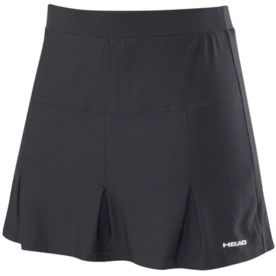 Head Club Basic Ladies Long Skort-Black