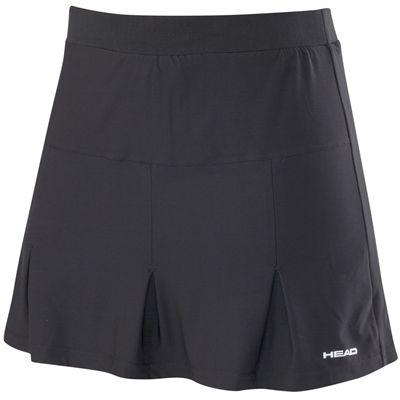 Head Club Basic Ladies Long Skort-Black