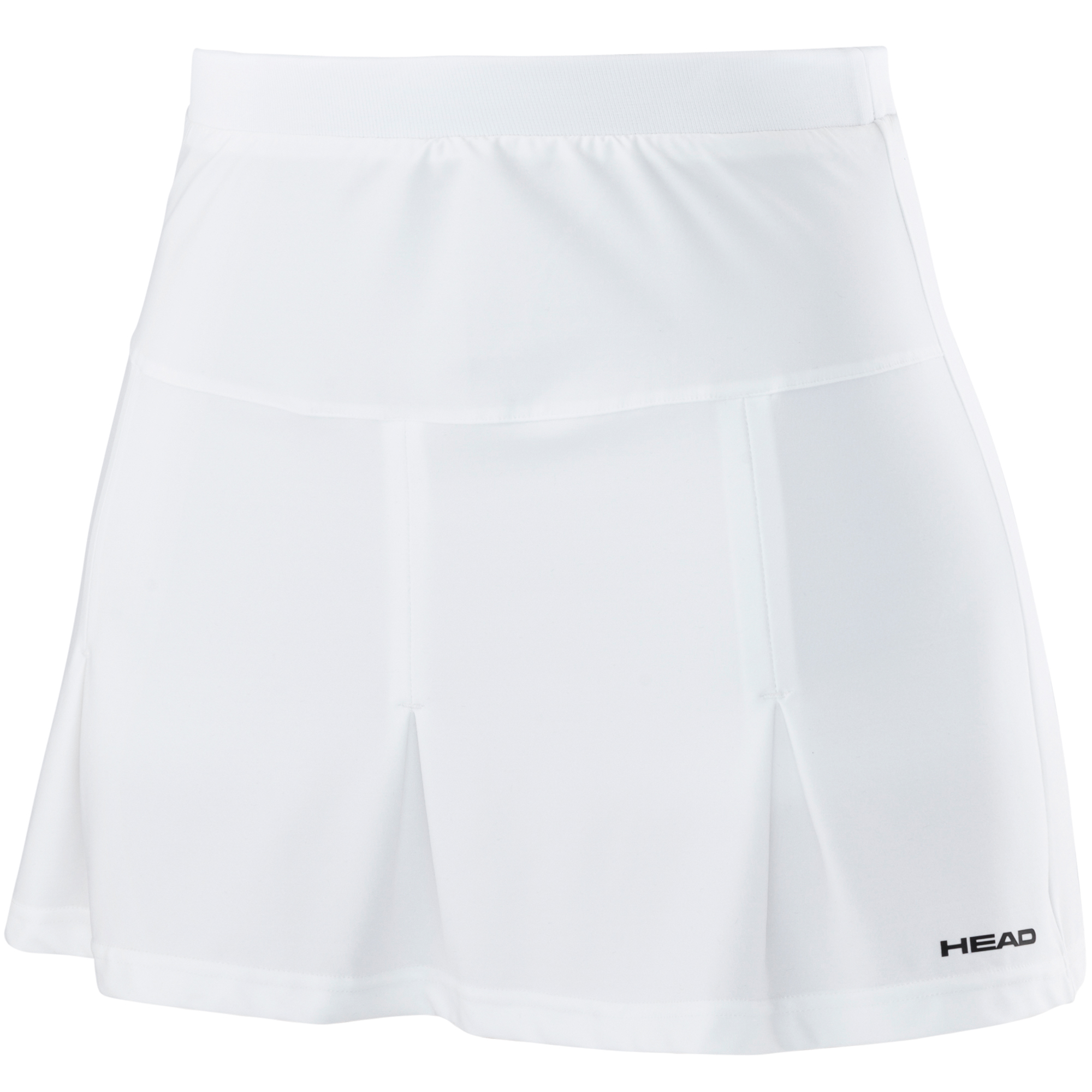 Head Club Basic Ladies Long Skort - White, XS