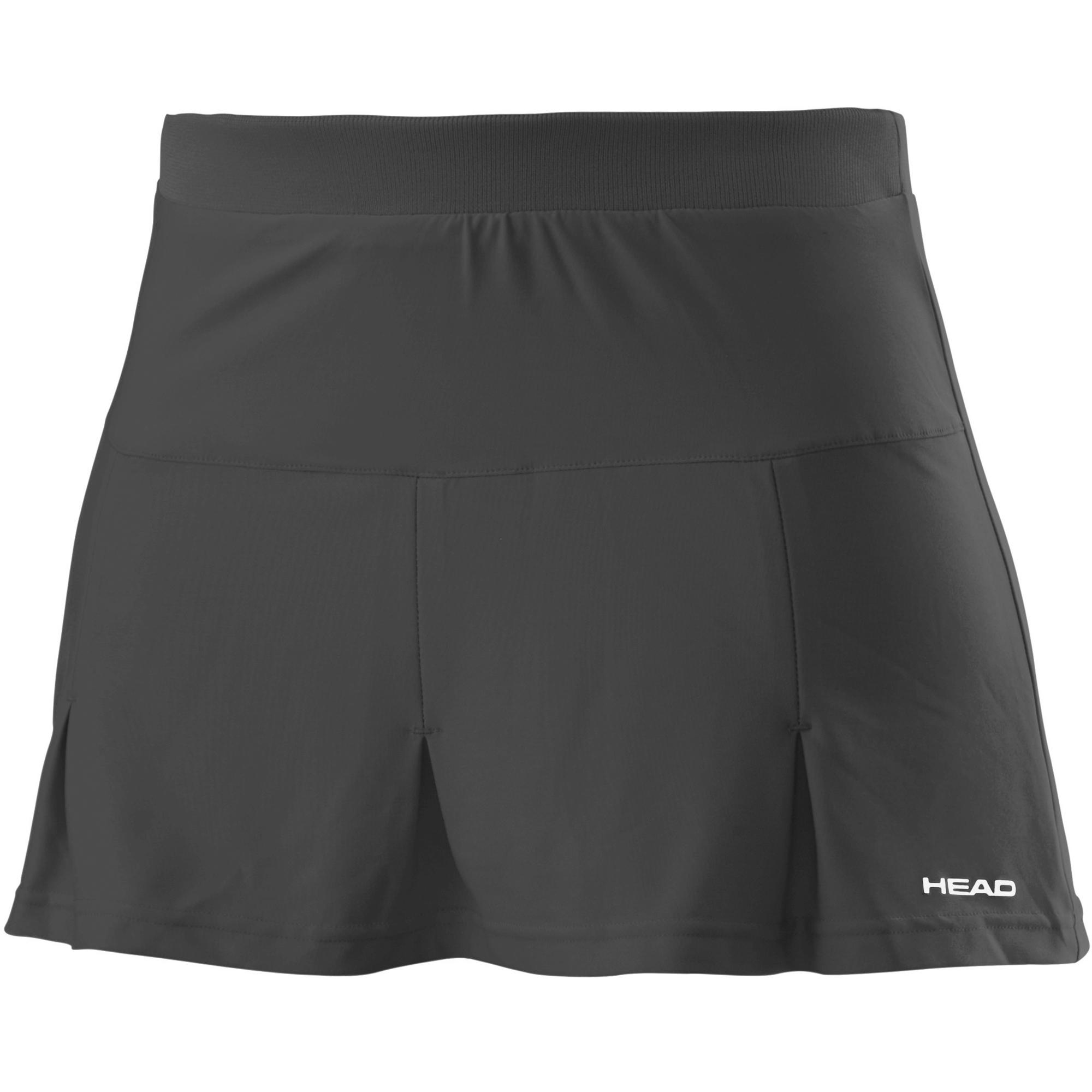 Head Club Basic Ladies Skort - Black, XL