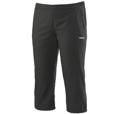 Head Club Capri Ladies Pants-Black