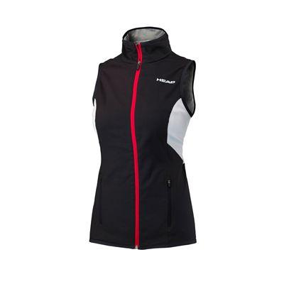 Head Club Ladies Sleeveless JacketHead Club Ladies Sleeveless Jacket - Black