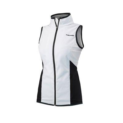 Head Club Ladies Sleeveless JacketHead Club Ladies Sleeveless Jacket - White