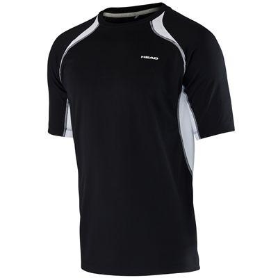 Head Club Technical Boys T-Shirt-Black