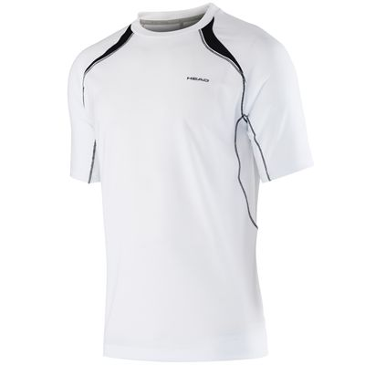 Head Club Technical Boys T-Shirt-White