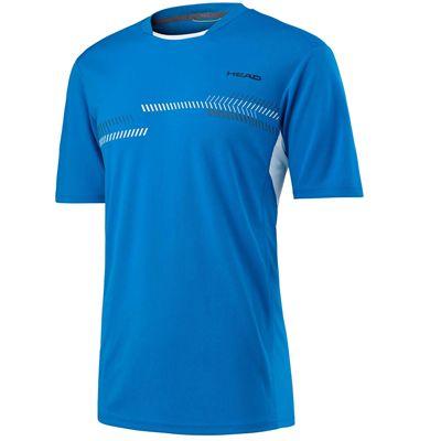 Head Club Technical Boys T-Shirt - Blue