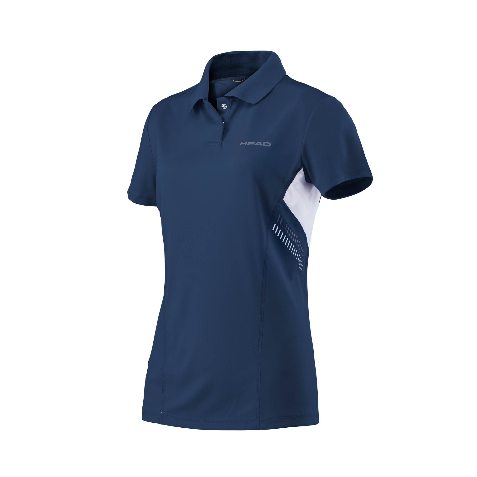 Head Club Technical Girls Polo Shirt - Navy, XL