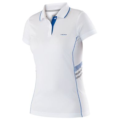 Head Club Technical Ladies T-Shirt - White/Blue
