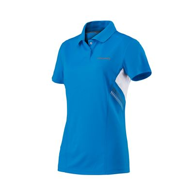 Head Club Technical Ladies Polo Shirt SS17 - Blue