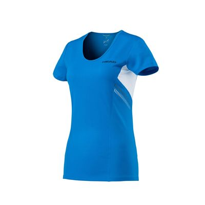 Head Club Technical Ladies T-Shirt SS17 - Blue