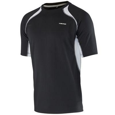 Head Club Technical Mens T-Shirt-Black