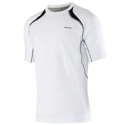 Head Club Technical Mens T-Shirt-White