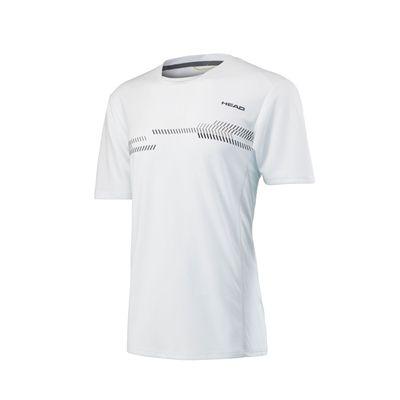 Head Club Technical Mens T-Shirt SS17 - White