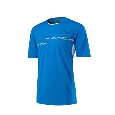 Head Club Technical Mens T-Shirt SS17 - Blue
