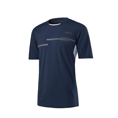 Head Club Technical Mens T-Shirt SS17 - Navy