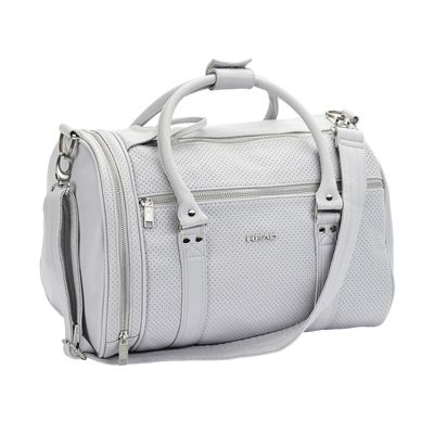 Head Contemporary St Moritz Holdall-Grey-Front