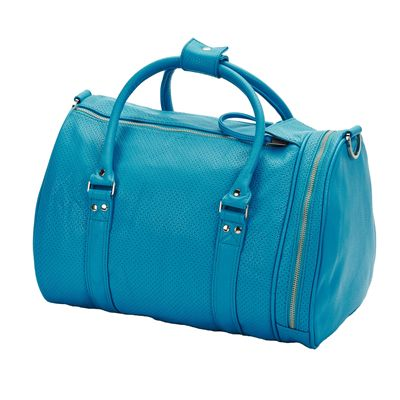 Head Contemporary St Moritz Holdall-Peacock Blue-Back