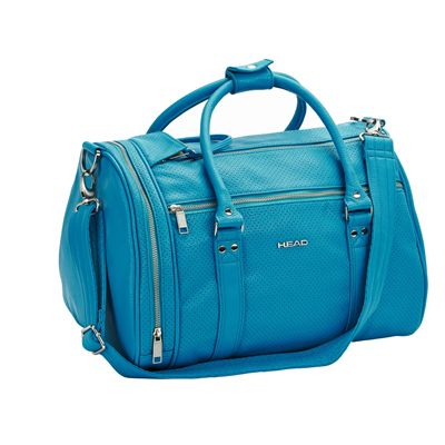 Head Contemporary St Moritz Holdall-Peacock Blue-Front