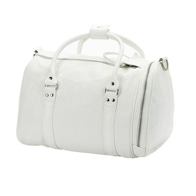 Head Contemporary St Moritz Holdall-White-Back