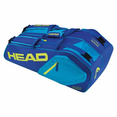 Head Core Combi 6 Racket Bag - Blue