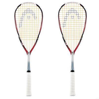 Head CT 135 Squash Racket - Double Pack