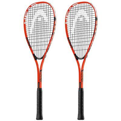Head Cyber Edge Squash Racket Double Pack
