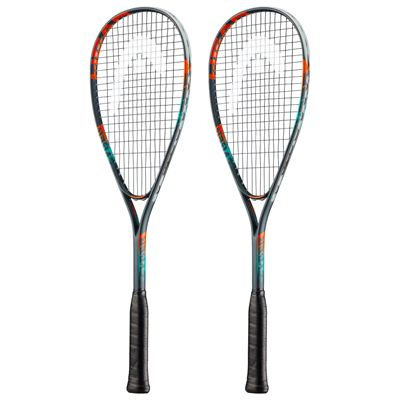 Head Cyber Elite Squash Racket Double Pack SS19