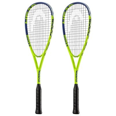 Head Cyber Pro Squash Racket Double Pack