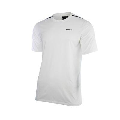 Head Discovery Mens T-Shirt - White/Black