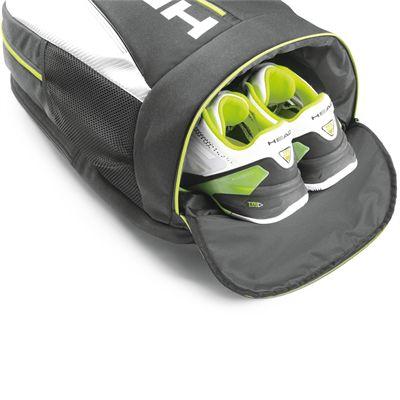 Inner pocket on the bottom of the backpack