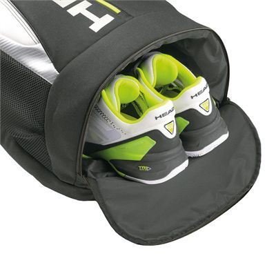 Head Djokovic Backpack SS16 Shoe Compartment