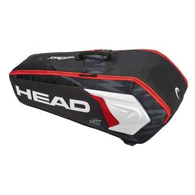 Head Djokovic Combi 6 Racket BagHead Djokovic Combi 6 Racket Bag