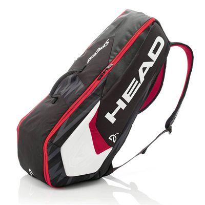 Head Djokovic Combi 6 Racket BagHead Djokovic Combi 6 Racket Bag - Side