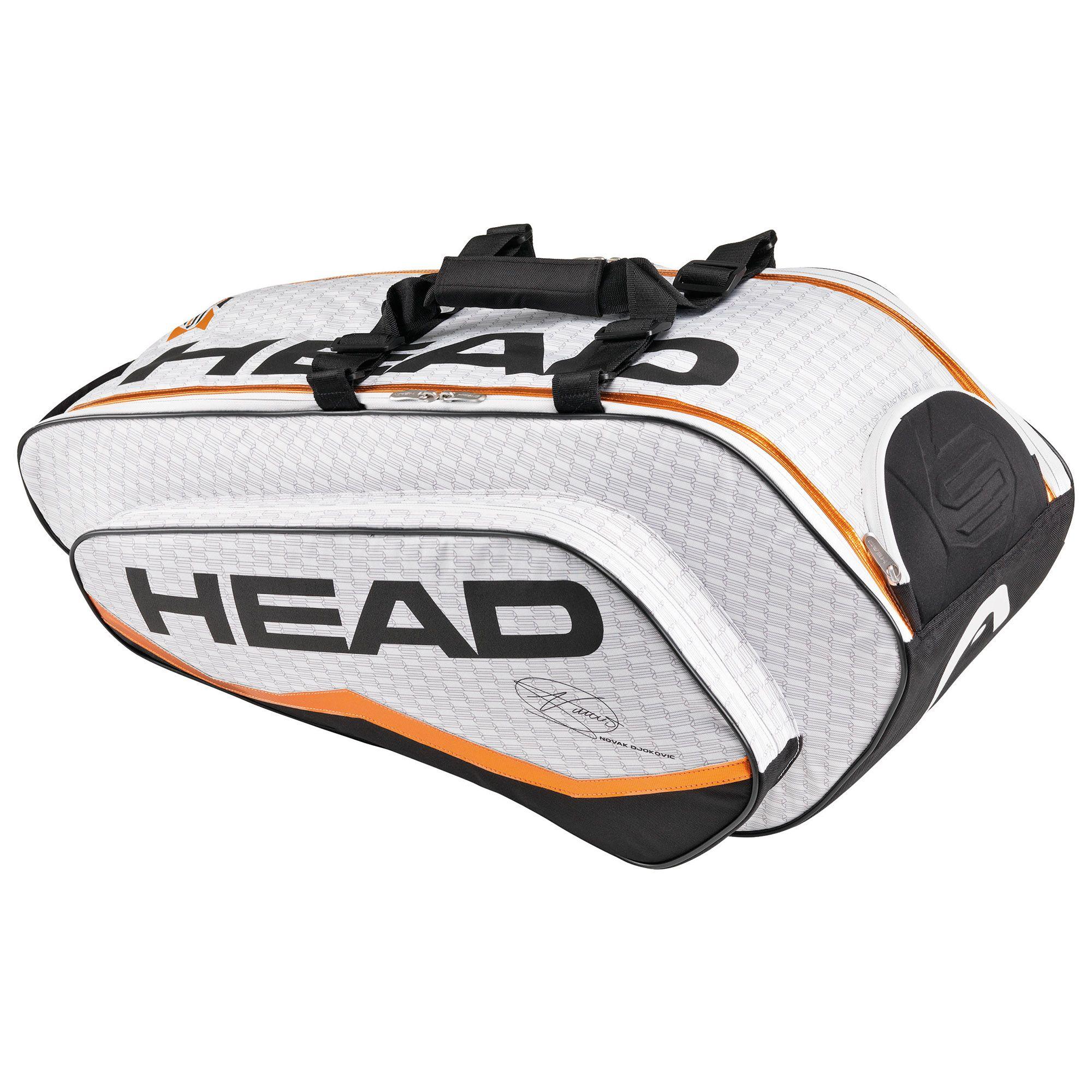Head Djokovic Combi Racket Bag Sweatband Com