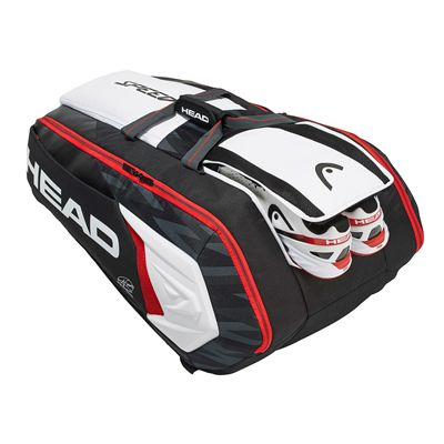 Head Djokovic Monstercombi 12 Racket Bag AW17 -  Pockets