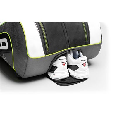 Head Djokovic Monstercombi 12 Racket Bag Shoe compartment