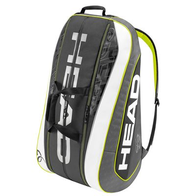 Head Djokovic Monstercombi 12 Racket Bag Side View