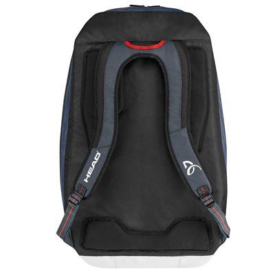 Head Djokovic Supercombi 9 Racket Bag SS17 - Back