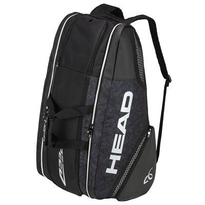Head Djokovic Monstercombi 12 Racket Bag SS20 - Angled