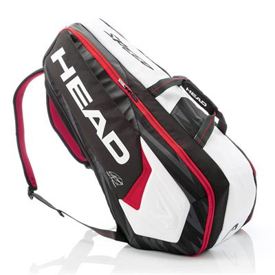 Head Djokovic Supercombi 9 Racket Bag AW17 - Side