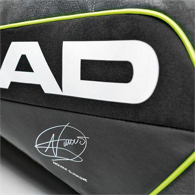 Head Djokovic Supercombi 9 Racket Bag SS16 Autograph View
