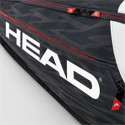 Head Djokovic Supercombi 9 Racket Bag SS17 - Head Logo