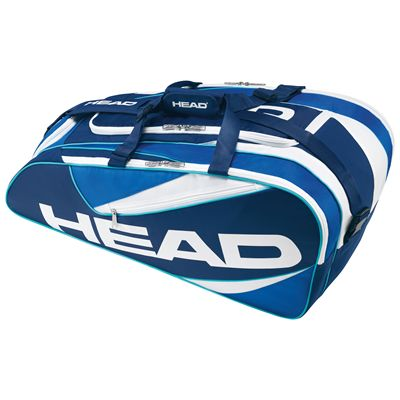 Head Elite All court Racket Bag-Blue