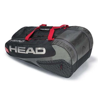 Head Elite All Court 8 Racket Bag - Black/Red