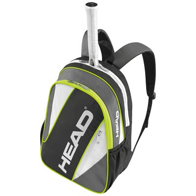 Head Elite Backpack-Black and Grey