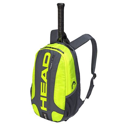 Head Elite Backpack SS19 - Grey/Yellow
