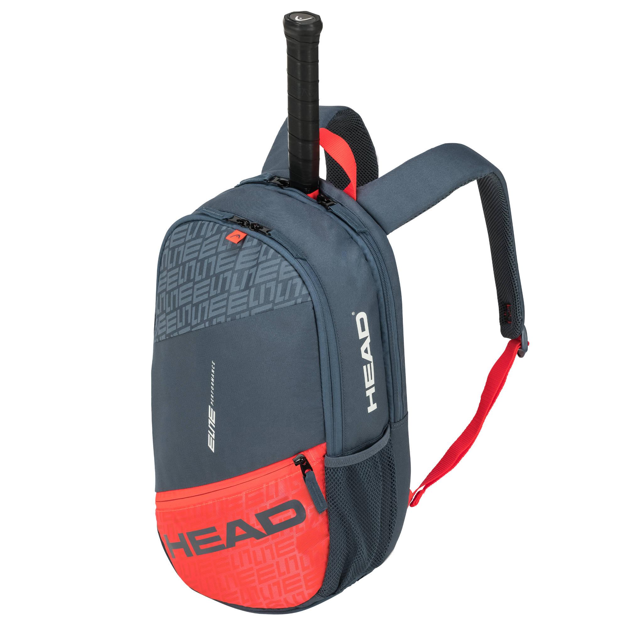 Head Elite Backpack - Grey/Orange