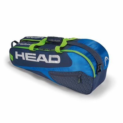 Head Elite Combi 6 Racket Bag AW17 - Blue/Green